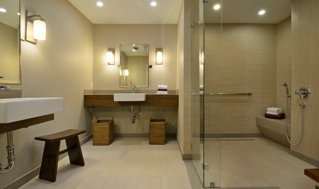 6 inspirational aging in place bathrooms age in place for Aging in place home plans