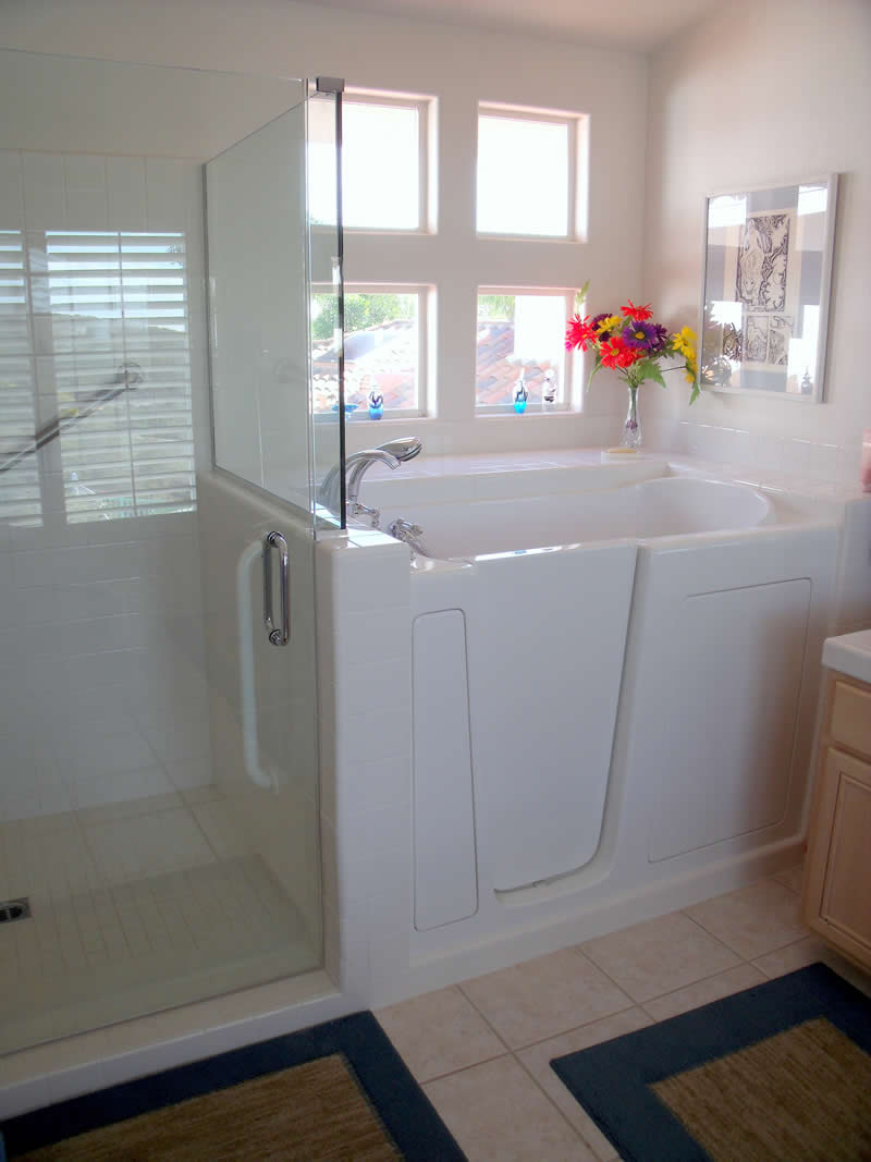 6 inspirational aging in place bathrooms age in place remodeling Bathroom remodel with walk in tub