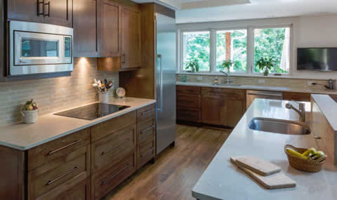 Kitchen remodel - Harry Braswell, Inc., Alexandria, VA