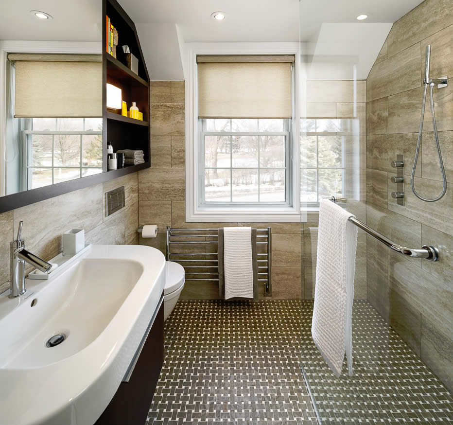 6 wet room designs we love bathroom remodeling for Bathroom design ottawa