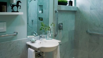 Amazing small bathrooms - Harrell Remodeling, Inc, Mountain View, CA
