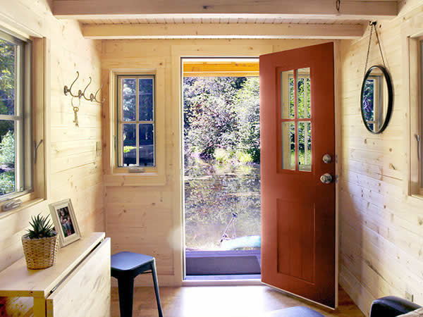 Tips for building a tiny house small home for aging - Tumbleweed tiny house interior ...