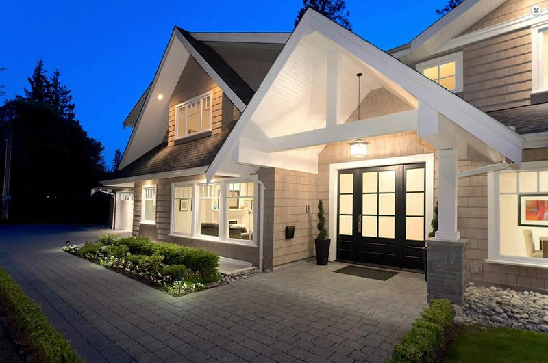 Delightful Changing Front Design Of House Part - 7: Source: Karnak Pro Builders
