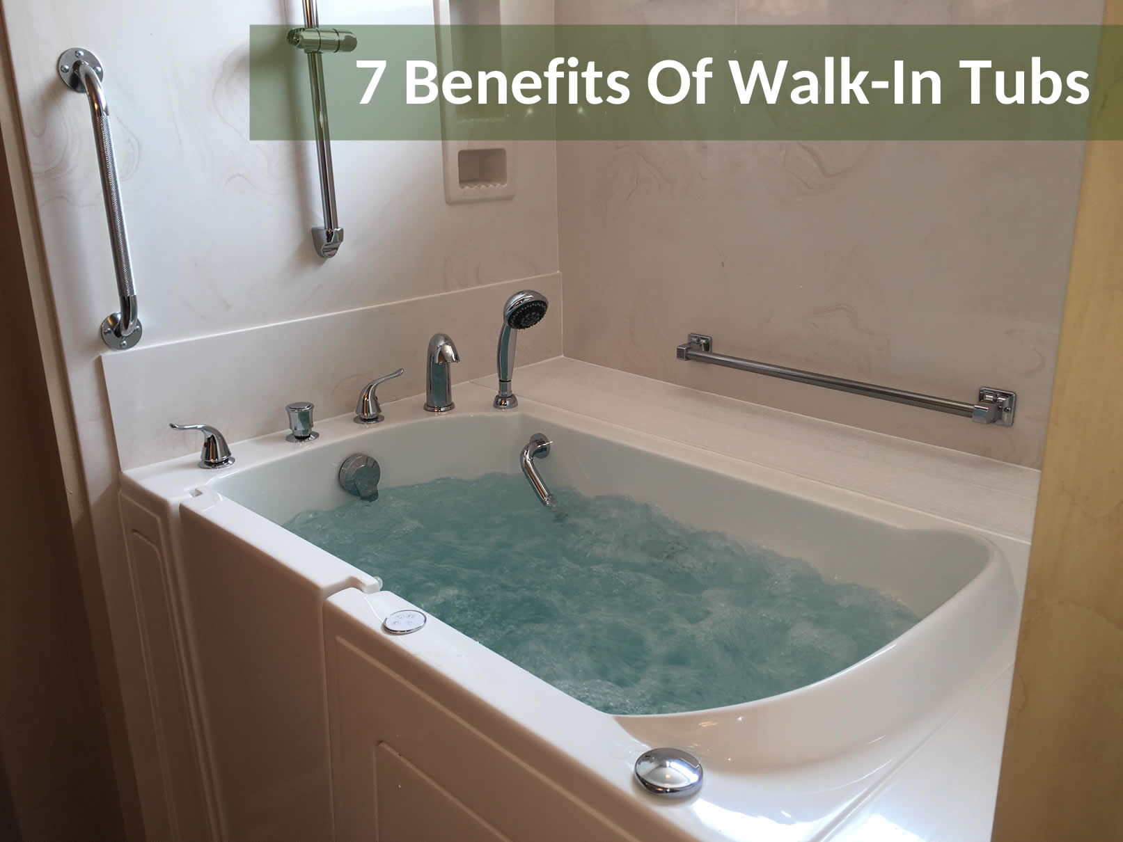 7 Benefits of Walk-In Tubs - Aging in Place